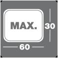 Max 30x60